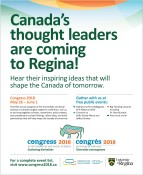 Canada's thought leaders are coming to Regina!