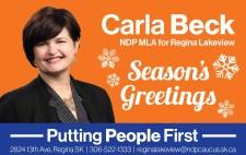 Season's Greetings fro Carla Beck