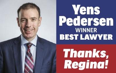 Yens Pedersen voted WINNER for BEST LAWYERS