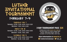 LUTHER INVITATIONAL TOURNAMENT