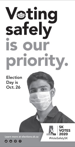 Voting safely is our priority.