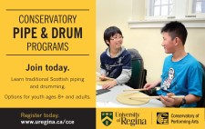 CONSERVATORY PIPE and DRUM PROGRAMS