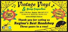 Thank you for voting Vintage Vinyl Reginas Best Headshop