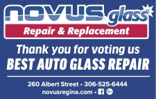 Thank you for voting NOVUS glass Repair BEST AUTO GLASS REPAI