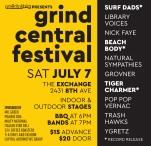 EXCLAIM PRESENTS  Grind Central Festival