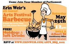 Erin Weirs 4th Annual Arts Festival Barbecue