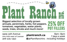 Biggest selection of locally grown plants
