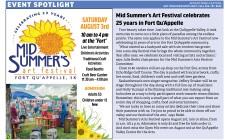 MID SUMMER'S art festival CELEBRATING 25 YEARS