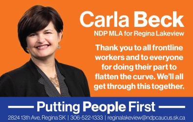 Thank you to all frontline workers and to everyone for doing their part