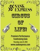 SASK EXPRESS  CIRCUS OF LIFE!