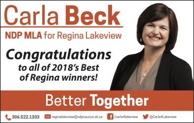 Congratulations to all of 2018s Best of Regina winners!