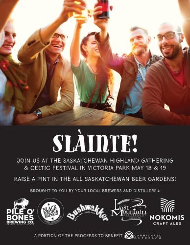 THE SASKATCHEWAN HIGHLAND GATHERING & CELTIC FESTIVAL IN VICTORIA PARK