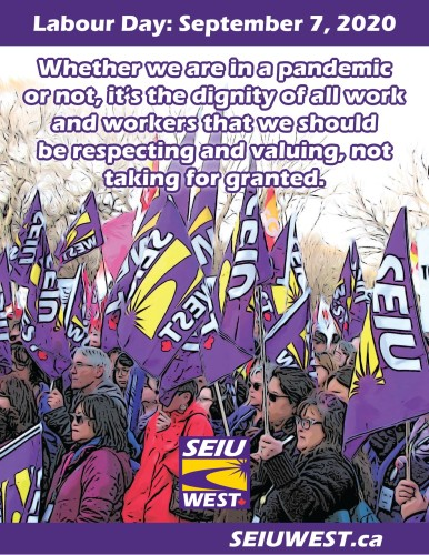 Labour Day September 7, 2020