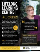 Lifelong Learning Centre  Fall Courses