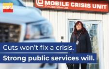 Cuts won't fix a crisis.