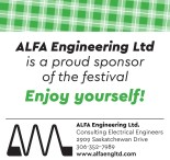 ALFA Engineering Ltd is a proud sponsor of the festival