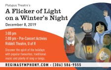 Platypus Theatre's A Flicker of Light on a Winter's Night
