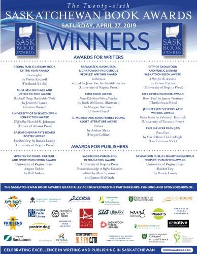 The Twenty-sixth SASKATCHEWAN BOOK AWARDS