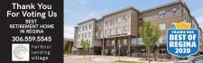 Harbour Landing Village voted BEST RETIREMENT HOME IN REGINA