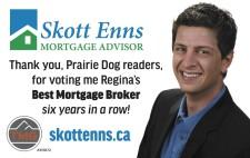 Thank You for voting SKott Enns for Best Mortgage Broker